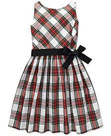 Polo Ralph Lauren Toddler Girls Tartan Fit & Flare Dress