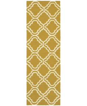 Closeout! Tommy Bahama Home Atrium Indoor/Outdoor 51112 Gold/Ivory 2'6