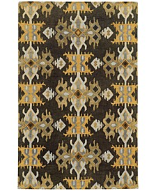 Home  Jamison 53305 Black/Gold Area Rug