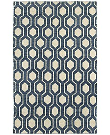 Home  Maddox 56507 Navy/Ivory Area Rug