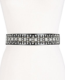 I.N.C. Rhinestone Waist Belt, Created for Macy's