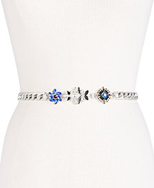 I.N.C. Embellished Chain Belt, Created for Macy's