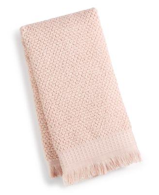 "Dorinda Cotton 16"" x 28"" Fringe Hand Towel, Created for Macy's"
