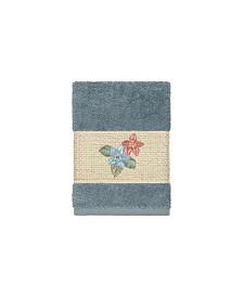 Linum Home Caroline Embroidered Turkish Cotton Washcloth