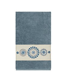 Isabelle Embroidered Turkish Cotton Bath Towel