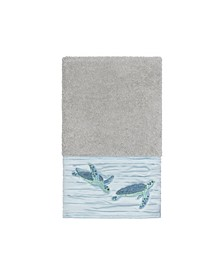 Mia Embroidered Turkish Cotton Hand Towel