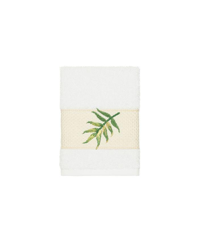 Linum Home - Zoe Embroidered Turkish Cotton Washcloth