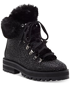 Jessica Simpson Norina Embellished Hiker Booties