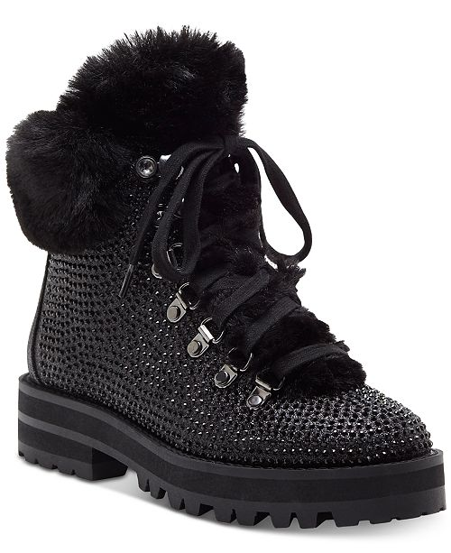 1fddf1828b Jessica Simpson Norina Embellished Hiker Booties   Reviews - Boots ...