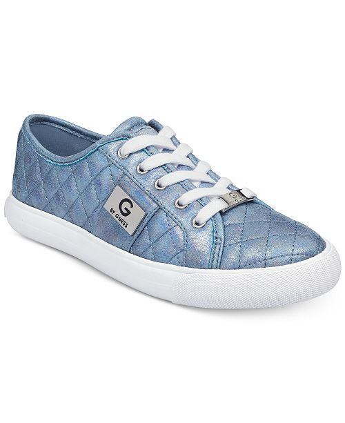 c3479fb43d6aac G by GUESS Backer Lace-Up Sneakers   Reviews - Sneakers - Shoes - Macy s