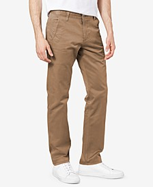 Men's Big & Tall Alpha All Seasons Tech Slim Tapered Khaki Stretch Pants