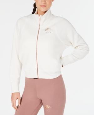 Nike Sportswear Air Cropped Track Jacket In Phantom  7a57d40d05186