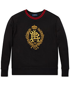 Polo Ralph Lauren Little Boys Embroidered Fleece Sweatshirt