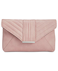 I.N.C. Luci Quilted Envelope Clutch, Created for Macy's
