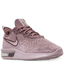 Nike Women's Air Max Sequent 4 Running Sneakers from Finish Line