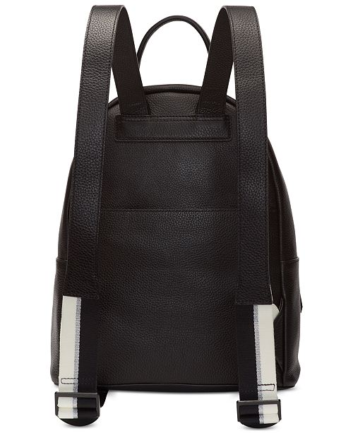 ffbf98bdf DKNY Jagger Leather Backpack, Created for Macy's & Reviews ...