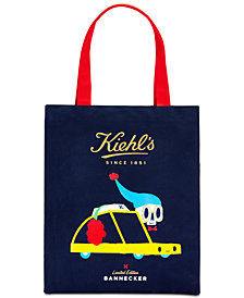 Receive a FREE Limited Edition Kiehl's Tote with $85 Kiehl's Purchase!