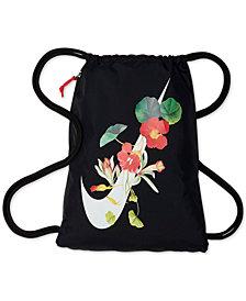 Nike Heritage Floral-Logo Gym Sack