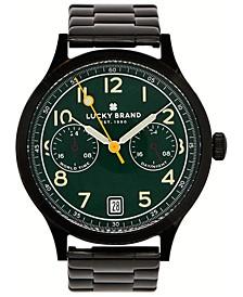 Men's Jefferson Black Stainless Steel Bracelet Watch 38mm