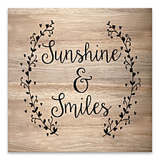 Sunshine and Smiles Wood, MDF Box