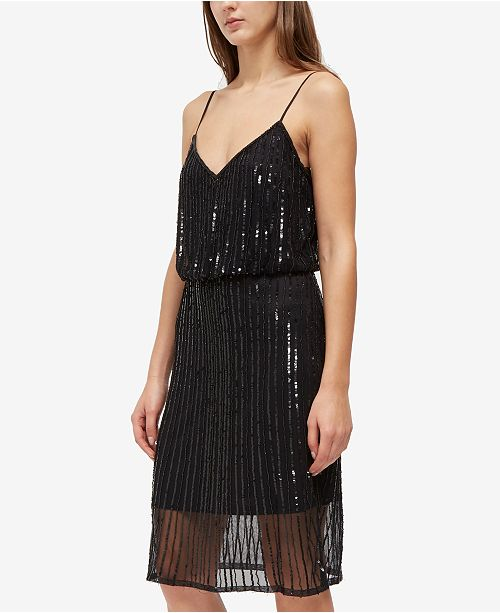 32a797d591a6 French Connection Aster Shine Dress & Reviews - Dresses - Women - Macy's