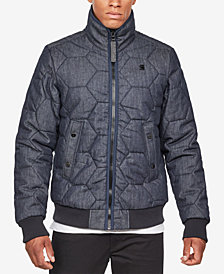 G-Star RAW Men's Medallion Quilted Jacket