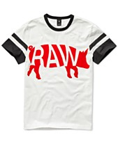 G-Star RAW Mens Chinese New Year Velvet Flocked Graphic T-Shirt 796a3938c