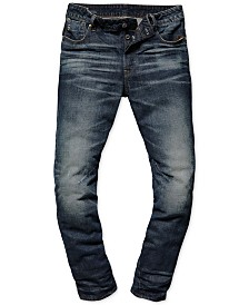 7b6a0fdf G-Star Raw Men's Arc 3D Relaxed Tapered Jeans, Created for Macy's ...