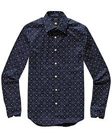 G-Star RAW Men's Geometric Shirt, Created for Macy's