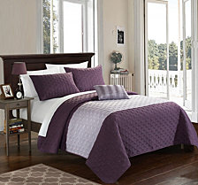 Chic Home Dominic 8-Pc. Quilt Sets