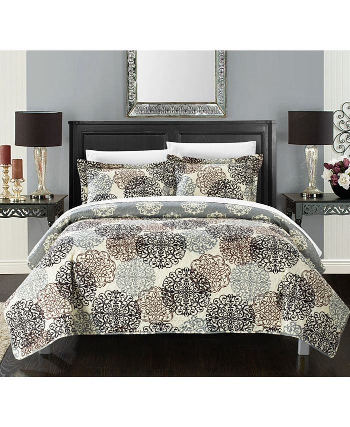 Chic Home - Kelsie 7-Pc. Bed in a Bag Quilt Sets
