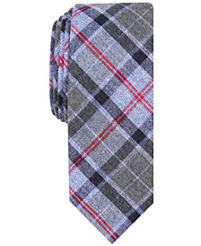 Penguin Men's Tice Skinny Plaid Tie