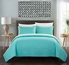 Amandla 7 Pc King Quilt Set