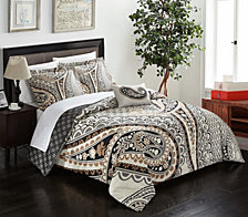 Chic Home Soliel 8 Pc Duvet Set Collection