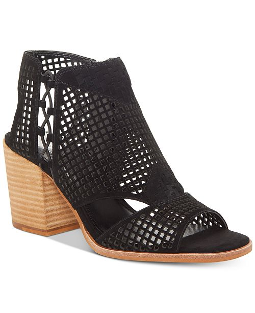 7ff498d5af25 Vince Camuto Kampbell Block-Heel Booties   Reviews - Boots - Shoes ...