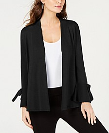 Tie-Sleeve Cardigan, Created for Macy's