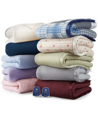 Micro Flannel® 7 Layers of Warmth Queen Heated Blanket