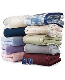 Micro Flannel® 7 Layers of Warmth Electric Blankets