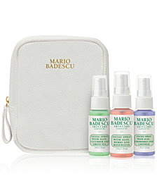 Receive a FREE 4 pc Signature Facial Sprays gift with $30 Mario Badescu purchase! (a $32 value!)
