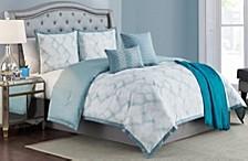 Ellen Tracy Berlin 6-Piece Queen Comforter Set