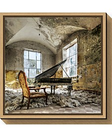 In Heaven Piano by Mario Benz Canvas Framed Art