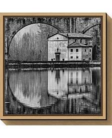 Amanti Art Water Architecture by Massimo Della Latta Canvas Framed Art