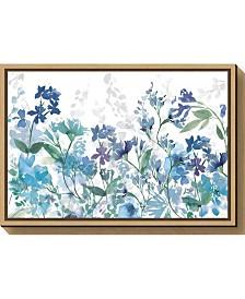 Amanti Art Colors of the Garden Cool Shadows Canvas Framed Art