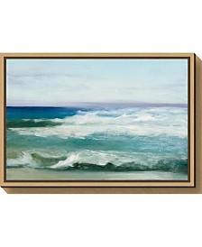 Amanti Art Azure Ocean by Julia Purinton Canvas Framed Art