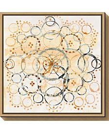 Amanti Art Henna Mandala II Crop by Melissa Averinos Canvas Framed Art