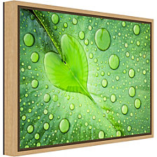Amanti Art Heart by Patrick Foto Canvas Framed Art