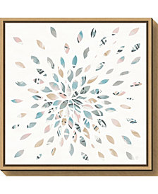 Amanti Art Fireworks II Floral by Elyse Deneige Canvas Framed Art