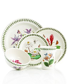 Dinnerware, Exotic Botanic Garden Mix and Match Collection