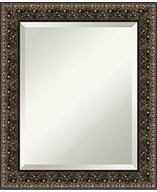 Amanti Art Intaglio Embossed 21x25 Bathroom Mirror