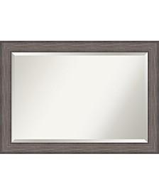 Country Barnwood 41x29 Bathroom Mirror